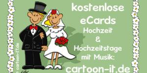Hochzeit Cartoon